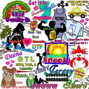 MTV Jersey Shore Gear
