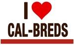 I Love Cal-Breds no logo