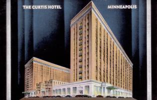 Curtis Hotel in Minneapolis Minnesota, 1930's