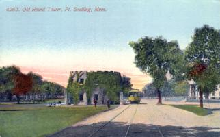 Round Tower, Fort Snelling, 1912