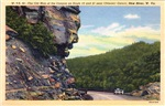 The Old Man of the Canyon, New River WV, 1942