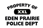 Property of Eden Prairie PD Shop