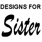 Designs for the US Air Force Sister