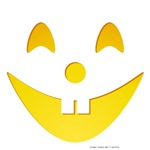 Buck Toothed Smile Pumpkin Face T-shirts & Gifts