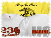 Patriotic American Eagle USMC Marine Corps T shirt apparel gifts and designs