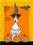 Halloween Tri Color Jack Russell T-Shirts
