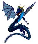 winged ribbon dragon