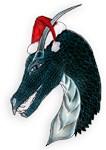 christmas onyx dragon