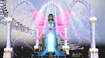 pink and blue fairy