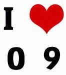 I Love 0  9