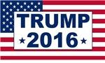 Trump 2016 American Flag