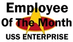 USS Enterprise Employee of the month