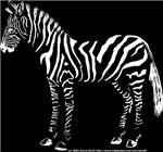 Standing Zebra neg Left