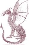 Sepia Watcher Dragon