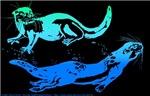 Otters Aquamarine