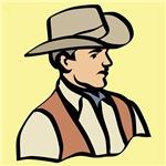 Cowboy on Yellow