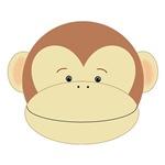 Brown Monkey Face