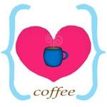 Pink Teal Coffee