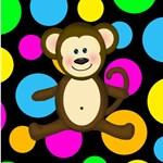 Smiling Monkey Multicolor
