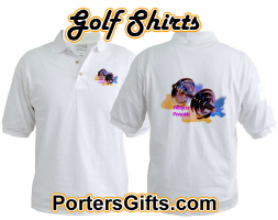 Golf Shirts: Sports, Fitness, Dance, Humor, etc.