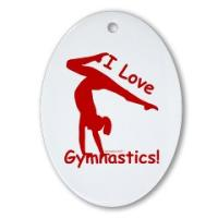 Gymnastics Ornaments - Great Rewards