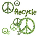 Recycle Peace Sign