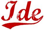 Ide (red vintage)