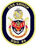 USS Shoup DDG-86 Navy Ship