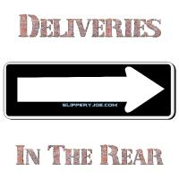 Deliveries In Rear
