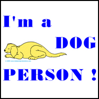 I'M A DOG PERSON T-SHIRTS & CLOTHING