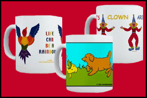 MUGS AND STEINS FOR KIDS