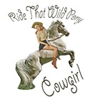 Ride That Wild Pony Pinup