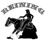 Copy of Reining Horse and Rider