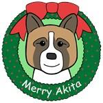 Akita Christmas Ornaments