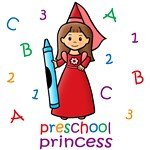Preschool Princess (Brown Hair)