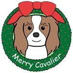 Cavalier King Charles Spaniel Christmas Ornaments