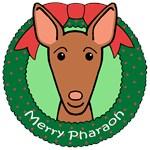 Pharaoh Hound Christmas Ornaments