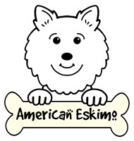 Personalized American Eskimo Dog