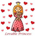 Lovable Princess (Red Hair)