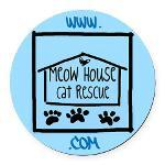 Meow House Car Magnets