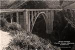 Bixby Bridge on Pacific Coast Highway