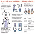 How to Put on and Wear a Novelty T-Shirt