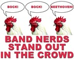 Band Nerds Stand Out