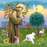 St Francis with Mickey