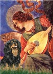 ANGEL WITH MANDOLIN<br>& Cavalier King Charles