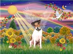AUTUMN ANGEL <br>& Jack Russell Terrier