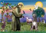 Saint Francis with<br>Irish Wolfhound (#1)
