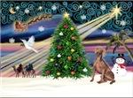 CHRISTMAS MAGIC<br>& Weimaraner #4