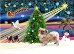 CHRISTMAS MAGIC<br>& Tibetan Spaniel #3