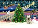 CHRISTMAS MAGIC<br>& Skye Terrier #1